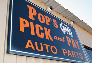 About Pop S Pick Pay Used Auto Parts